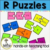 R Articulation Puzzle  - Prevocalic R and Vocalic R Activities