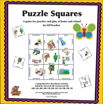 Speech Puzzle Squares for R