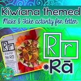 R = Te Ra the Sun {Kiwiana Themed 'Make & Take' Alphabet Set}