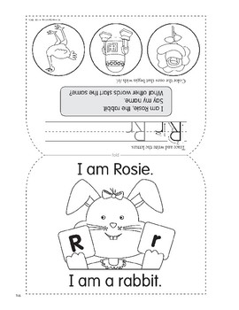 R: Rosie, the Rabbit