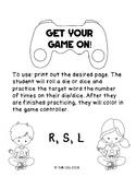 R, S, L Articulation: Gamer Edition