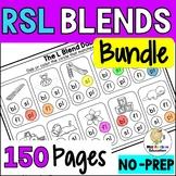 R, S, L Blends Worksheets Bundle (No Prep)