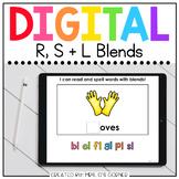 R S and L Blends Digital Basics for Special Ed | Distance