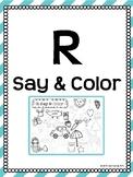 R Say & Color