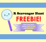 R Scavenger Hunt FREEBIE