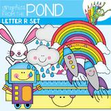 Letter of the Alphabet Clipart - R Set