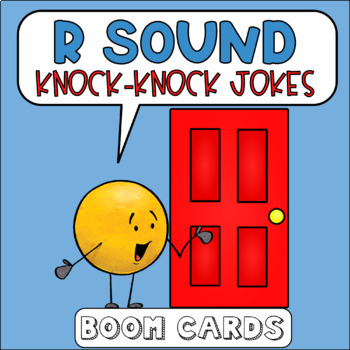 R Sound Knock Knock Jokes Boom Cards | Speech Therapy | Articulation