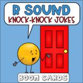 R Sound Knock Knock Jokes Boom Cards | Speech Therapy | Ar