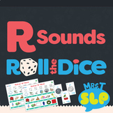 Speech Therapy Roll the Dice Games: R Sounds (includes vowel R)