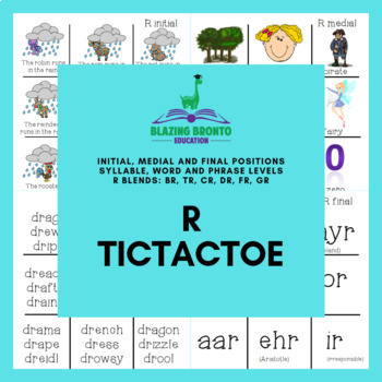 R Articulation   R Tictactoe   Games   Speech Therapy
