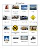 R Travel Bingo for Summer Articulation Practice