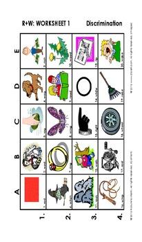 R Vocabulary Grids
