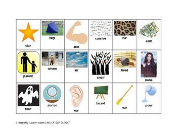 R Vowel Speech Evaluation