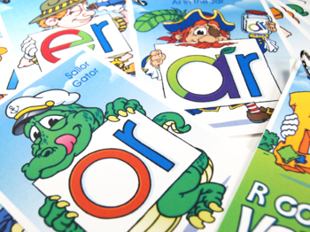 R Word Buddy Combo Pack (AR, ER, IR, OR, UR) Cards and Posters