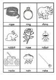 R. Words beginning with R flashcards