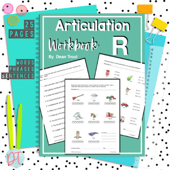 Articulation Workbook for the R Sound Just Print