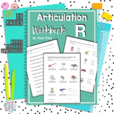 Articulation Workbook for the R Sound Just Print