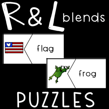 R and L Beginning Blends Puzzles!