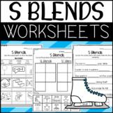 R and L Beginning Blends Worksheets