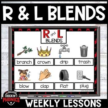 R and L Blends Rockin' Phonics