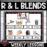 R and L Blends Activities and Games
