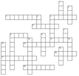 R and S Articulation Crossword