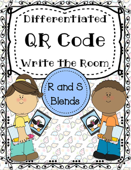 R and S Blend Differentiated QR Write the Room Center