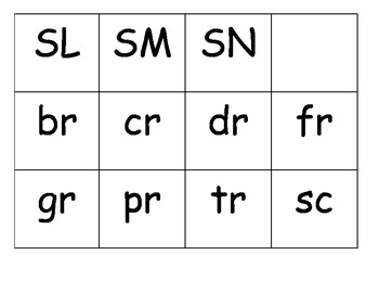 R and S blend Matching Game