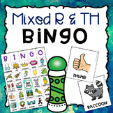 R and TH Mixed Articulation BINGO Activity