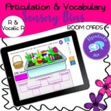 R and Vocalic R Articulation & Vocabulary Sensory Bin | BOOM CARDS™ | Speech |