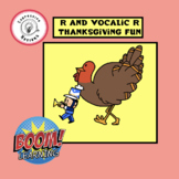 R and Vocalic R Thanksgiving Fun : Boom Cards