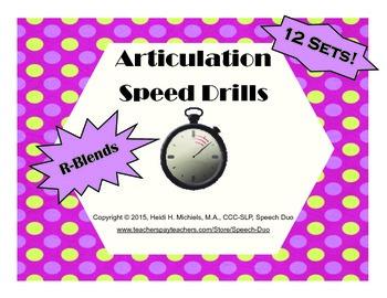 R-blend Artic Speed Drills SET