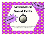 R-blend Artic Speed Drills SET