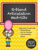 R-blend Articulation Mad-libs