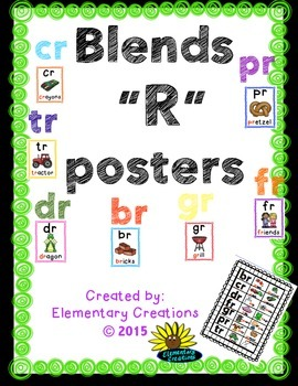 """""""R"""" blends """"Posters"""""""