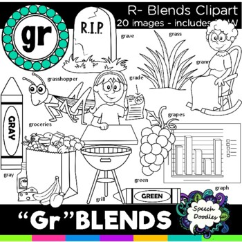 R blends clipart - Gr blends - 22 images! Personal and Commercial use
