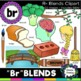 R blends clipart - MEGA bundle: 151 images! Br, Cr, Dr, Fr, Gr, Pr,& Tr blends