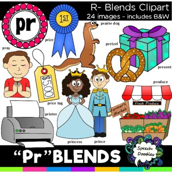 R blends clipart - Pr blends clipart - 20 images! Personal and Commercial use