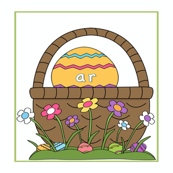 """R"" control vowel pairs Easter Egg Hunt"
