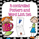 R-controlled Phonics Posters and Word Lists