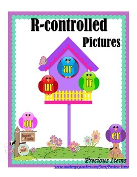 R-controlled Pictures - Birdhouses and Birds