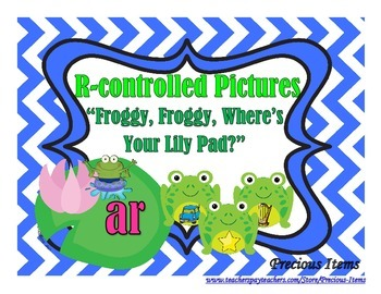 "R-controlled Pictures - ""Froggy, Froggy, Where's Your Lily Pad?"""