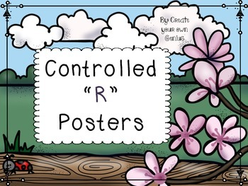 R controlled Posters Phonics