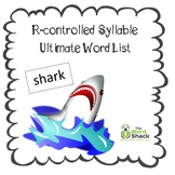 R-controlled Syllable Ultimate Word List