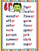 R controlled Vowel 'er' PowerPoint and printables