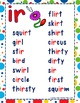 R controlled Vowel 'IR'  Power Point and Printables