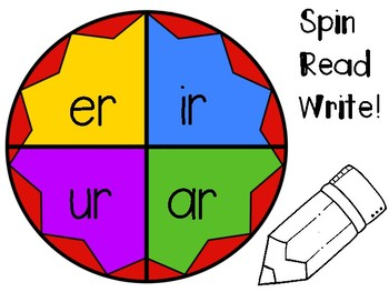 R controlled Vowel practice