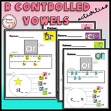 R-controlled Vowels