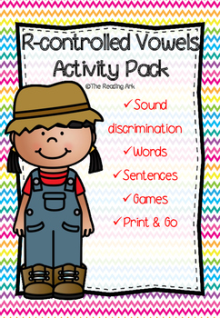 R-controlled Vowels Activity Pack *No prep*