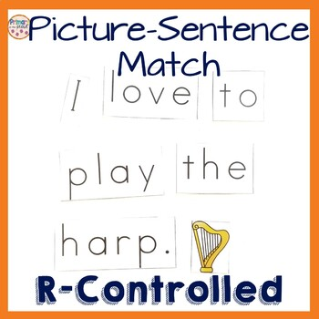 R-controlled Vowels Literacy Center or Bossy R Literacy Center